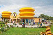 Hier wird der Betrieb selbst zur Marke: das Baumkuchenhaus in Wernigerode in Form eines Baumkuchens.
