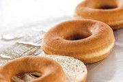 Donuts mit kurzem Biss