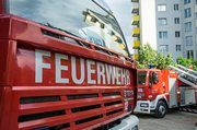 Die Feuerwehr musste in Meiningen einen Ofenbrand bekämpfen.