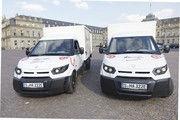 Freie Fahrt in Stuttgarts Innenstadt haben diese beiden E-Fahrzeuge eines dortigen Bäckers.