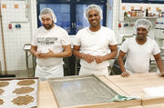 Diese Asylbewerber wollen Bäcker werden.