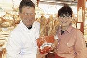 Michael und Ehefrau Gabi Fricke mit ihren Baguettes.