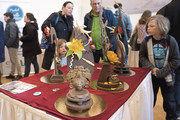 Schokoladenschaustücke sind wichtiger Teil der Ausstellung.