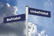 Getrennte Wege: Die Bedingungen für ein befristetes Arbeitsverhältnis sind klar geregelt.