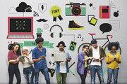 Die Generation Z, zwischen 1995 und 2010 geboren, ist digital sozialisiert.