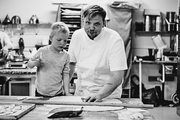 Konditor und Bäcker Ásgeir Sandholt führt die Sandholt Bakery im Herzen von  Islands Hauptstadt Reykjavik.