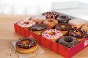 Donuts-Varianten: Damit versucht Dunkin' Donuts auch in Europa Umsatz zu machen.