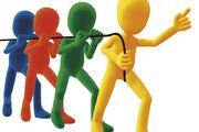 Wenn Chef und Belegschaft gemeinsam am berühmten Strang ziehen, ist Erfolg wahrscheinlich.