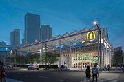 So sieht sie aus: Die neue McDonald's-Filiale in Chicago.