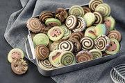 Schwung durch Swirl-Cookies