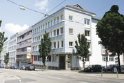 Teil des Neuen: die Württembergische Bäckerfachschule in Stuttgart.