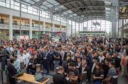 76.800 Besucher kamen in diesem Jahr nach Angaben der Messegesellschaft auf die Iba.