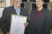 EOM Karl Standhartinger (l.) und OM Günther Landerer.