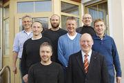 Vorstand der Bäckerinnung Regensburg-Kelheim mit neuem OM-Stellvertreter Stefan Kiendl (v. l.) und Obermeister Hans Deubel (daneben).