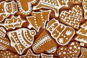 Lebkuchen sind neben Schokoladennikoläusen beliebte Süßigkeiten in der Weihnachtszeit.