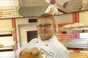Bei Marcus Ostendorf sind die Backwaren fast ausverkauft: Übriggebliebene Brote gehen via App an Kunden.