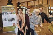 Machen auf die Jubiläumsaktionen aufmerksam (von links): Shari Malzahn (Neven Subotíc-Stiftung), Elisabeth Vielhaber (7. Generation), Maja Vielhaber (5. Generation), Eberhard Vielhaber (6. Generation).