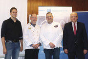 Blicken trotz einiger Herausforderungen positiv in die Zukunft: Steffen Maiworm (von links), Ulrich Jortzig, Georg Sangermann und Jürgen Haßler.