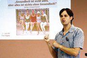 """Diplom-Sportwissenschaftler Tom Aigner zitierte Schopenhauer: """"Ohne Gesundheit ist alles nichts."""""""