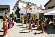 """Anlässlich ihrer """"Türkischen Woche"""" standen in Förch´s Bäckerei-Café auch Bauchtänze auf dem Programm."""
