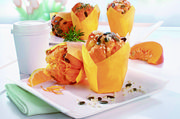 Die Sweet Pumpkin-Muffin basieren auf dem Produkt Royal Rühr.