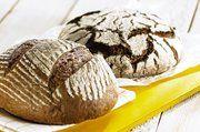 Sauerteig-Brot, hergestellt mit einem Dreistufen-Roggen-Sauerteig.