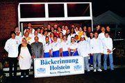 23 Bäcker/innen und 30 Fachverkäuferinnen der Innung Holstein eingeschrieben.