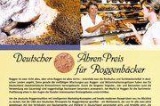 Ährenpreis für Roggenbäcker