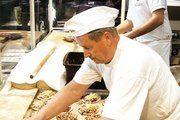 Vor den Augen der Messebesucher wurden unter anderem drei verschiedene Sorten Pizza frisch zubereitet.