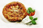 Pizza Tomate-Mozzarella.