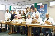Mitglieder der Bäckerinnung Mosbach konnten mit dem Ergebnis der Brotprüfung in den Räumlichkeiten der AOK in Mosbach mehr als zufrieden sein.