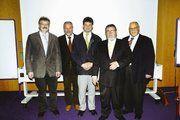 Die neu gewählten vom BIV Südwest (von links): Hans Schmitt, Helmut Seither, Manfred Petry, Willi Renner und der als LIM zurück getretene Volker Gögelein.