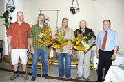 Freuen sich auf die kommenden Aufgaben (von links): Stephan Kocher, Ulrich Biedenkopf, Michael Homberg, Ehrenfried Homberg und Peter Lehmann.