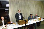Auf der Versammlung der Bäckerinnung Ludwigsburg/Rems-Murr (von links): In den Vorstand wieder gewählt wurden Rainer Stolzenberger, Georg Strohmaier und Rudolf Pristl. Gunther Grau schied altershalber aus.