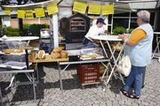 Schönen Erfolg mit Snacks und Brot vom mobilen Backofen verzeichnete Michael Großmann.