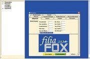 Das Programm FiliaFox sucht in den Daten nach verdächtigen Aktionen.
