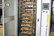 Die Vakuum-Kühlung benötigt zur Abkühlung von Großbrot wenige Minuten.