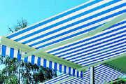 Optimaler Sonnen- und Wetterschutz auch für kleine Flächen.