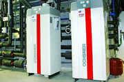 Bei der Wärmepumpenanlage werden Heizen und Kühlen nicht getrennt, sondern als Einheit betrachtet.