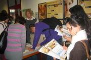 Beim Bildungstag des Instituts für Getreideverarbeitung konnten sich Schüler rund um das Bäckerhandwerk informieren.