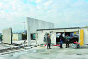 Besonderheit bei Dietrich: Die stützenlose Hallenkonstruktion schafft Platz für reibungslose Produktionsabläufe.