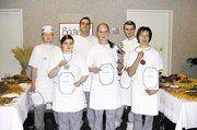 Die erfolgreichen Teilnehmer des Bäckerwettbewerbs.