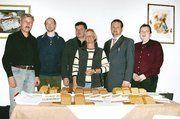 Der neue Vorstand der Innung Böblingen-Herrenberg v. l.: Theo Noller, Peter Schall, Thomas Keller, Rosemarie Späth, OM Eberhard Binder, Dirk Weinberg.