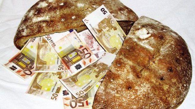 Brot hat sich als denkbar ungeeignet für die illegale Einfuhr falscher Euroscheine aus Litauen erwiesen.  (Quelle: Eberhardt)