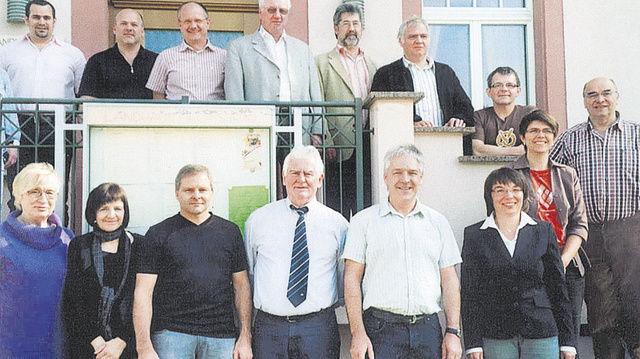 Vor der Fusion: Mitglieder und Gäste der Bäckerinnung Wolfach beim letzten Gruppenbild als eigenständige Innung.  (Quelle: Grosholz)
