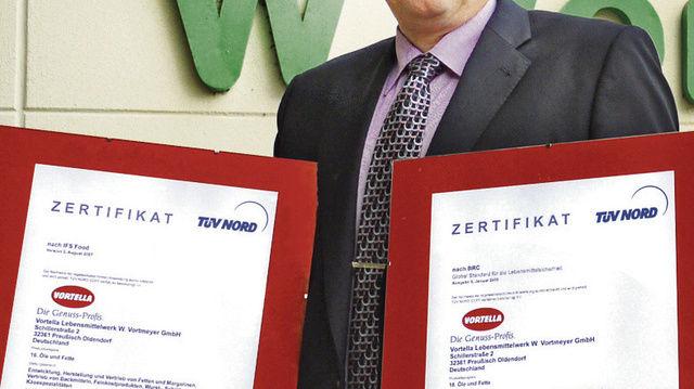 Freut sich über die Auszeichnungen: Geschäftsführer Torben Friis Larsen.