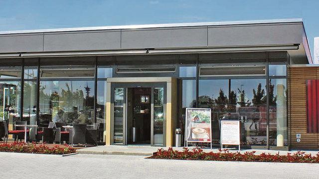 In Waghäusel steht das Vorzeigeobjekt in Sachen Freestander. Der Standort der Bäckerei Rothermel ist seit 2010 erfolgreich am Start.