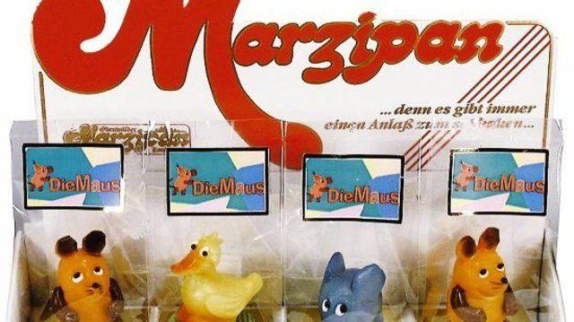Die Maus und ihre Freunde gibt's jetzt fertig aus Marzipan.