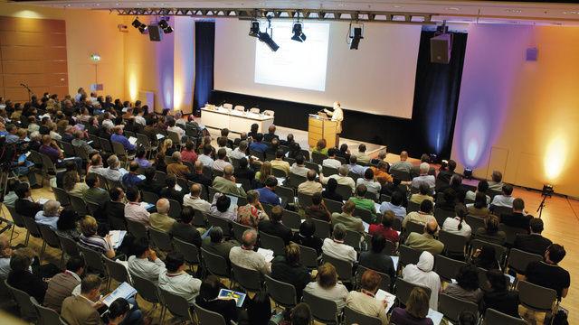 Branchentreff im ICM Congress Center der Messe München.  (Quelle: Messe)