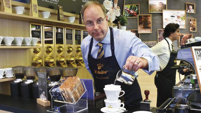 Das Geschäft mit Filterkaffee boomt. Ein heißer Trend, der auf der Messe vielfältig bedient wird.  (Quelle: Wolf)